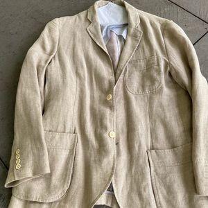 Billy Reid men's linen sport coat 42R.